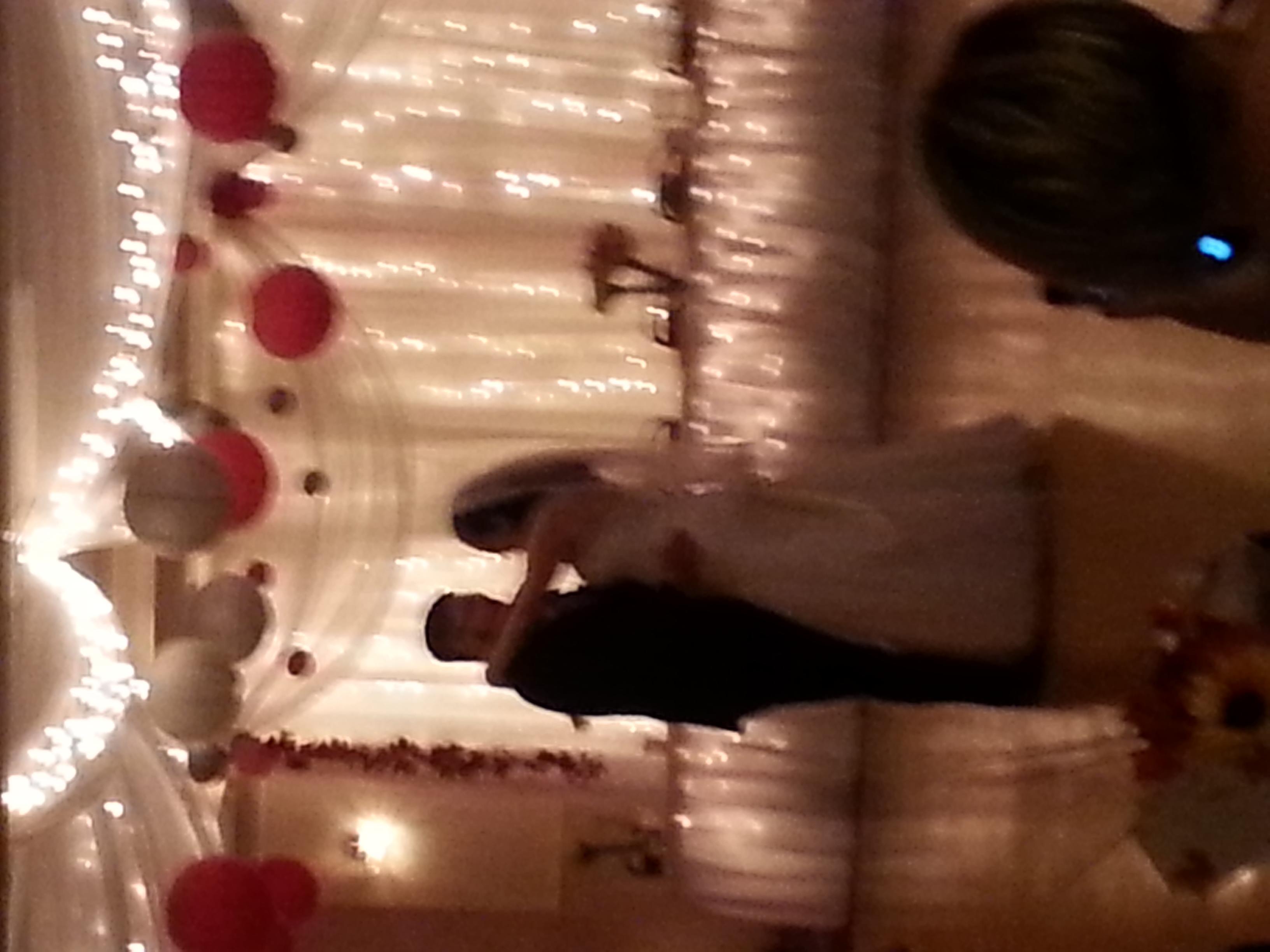 blurry photo from best friends weddig!