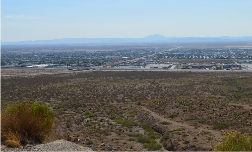 This is a shot I took in 2009 of North East El Paso. Just thought you'd like to see my home territory