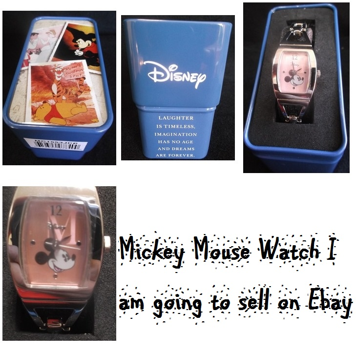 Mickey Mouse watch that I hope to sell on eBay