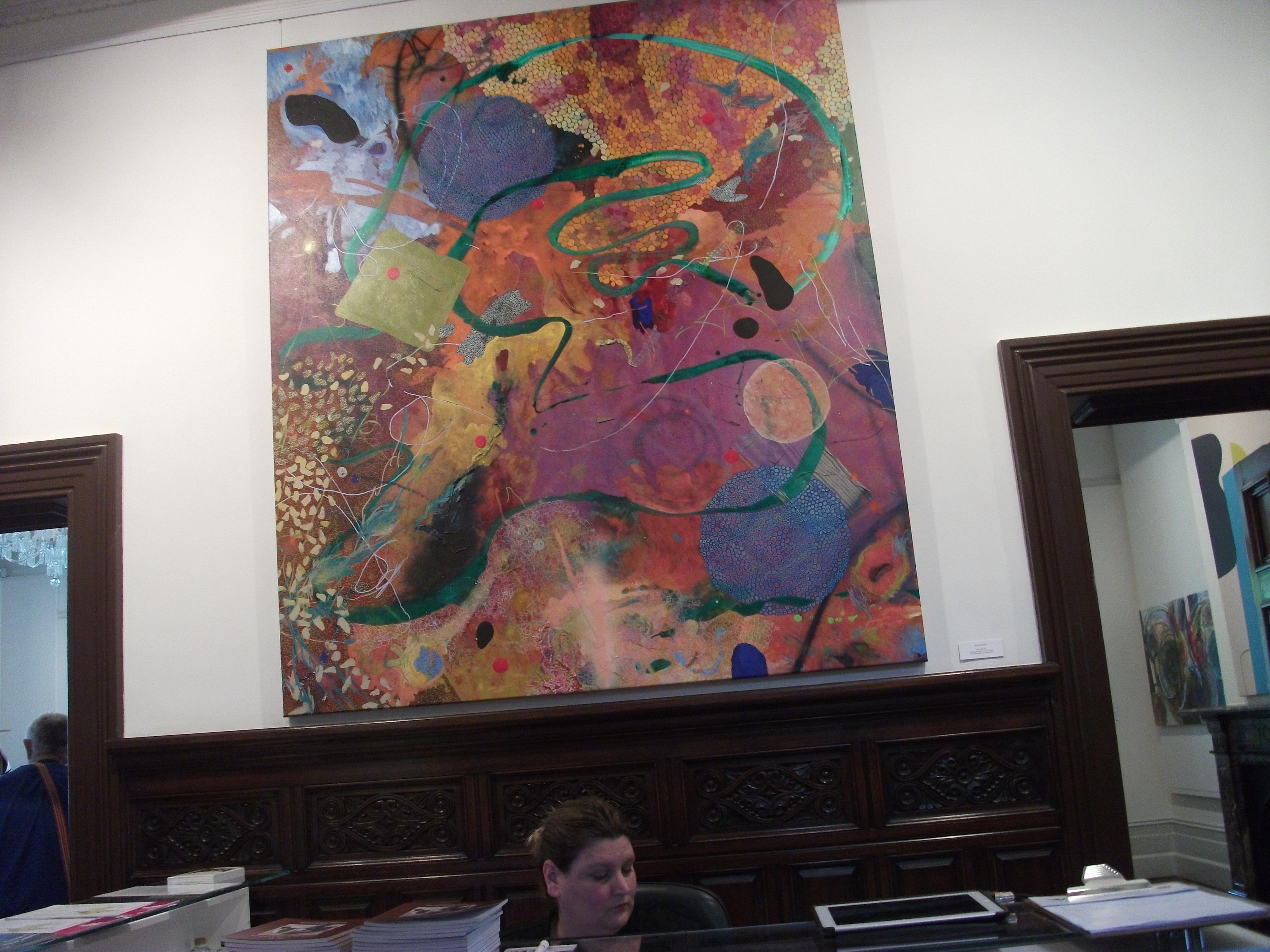 An art displayed in Auckland Art galler Exhibit