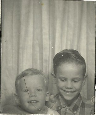 photo of my 2 boys back then
