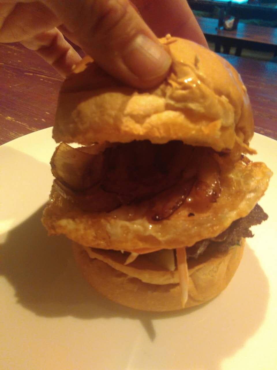 Homemade Beef Hamburger