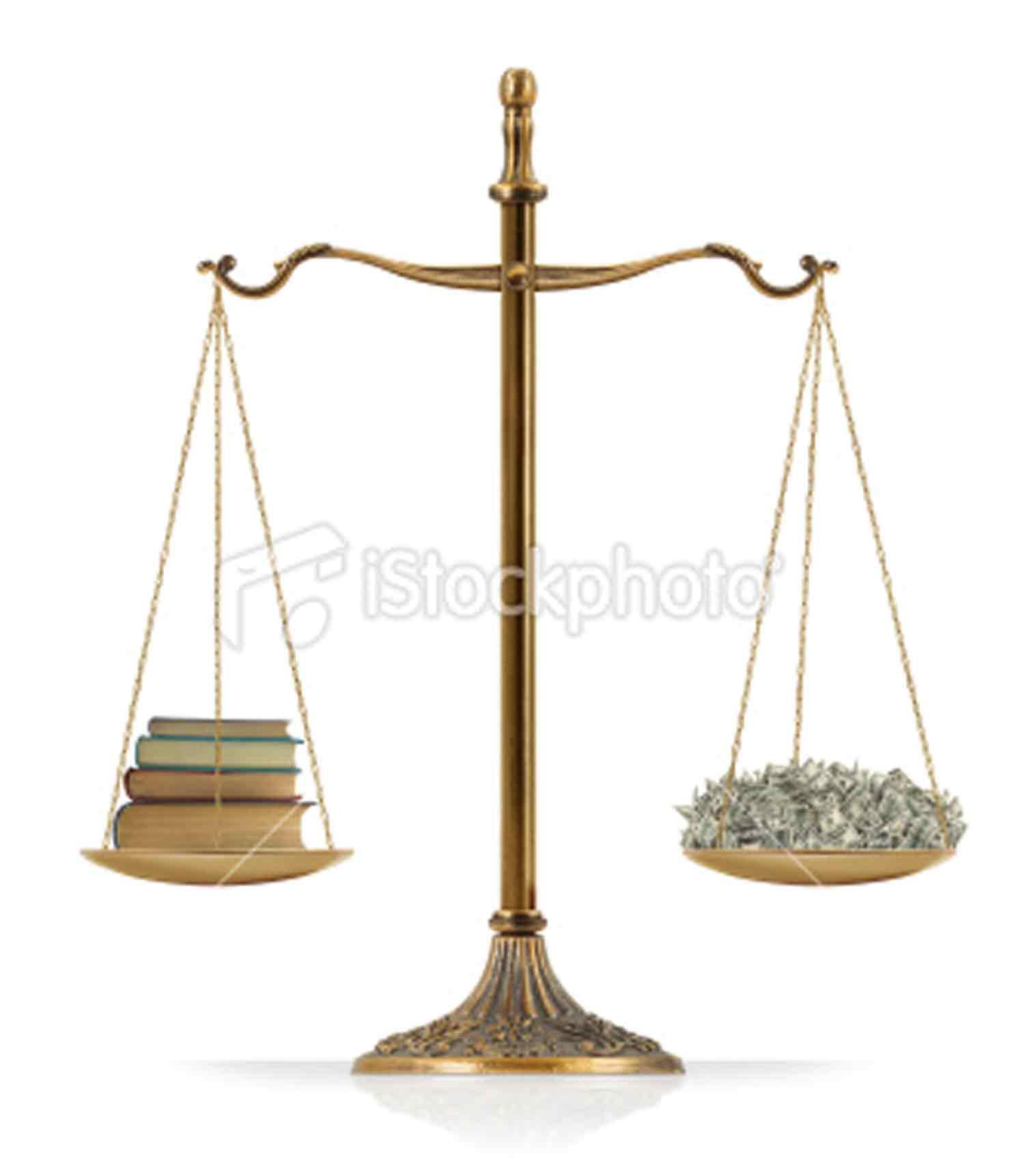 knowledge vs money