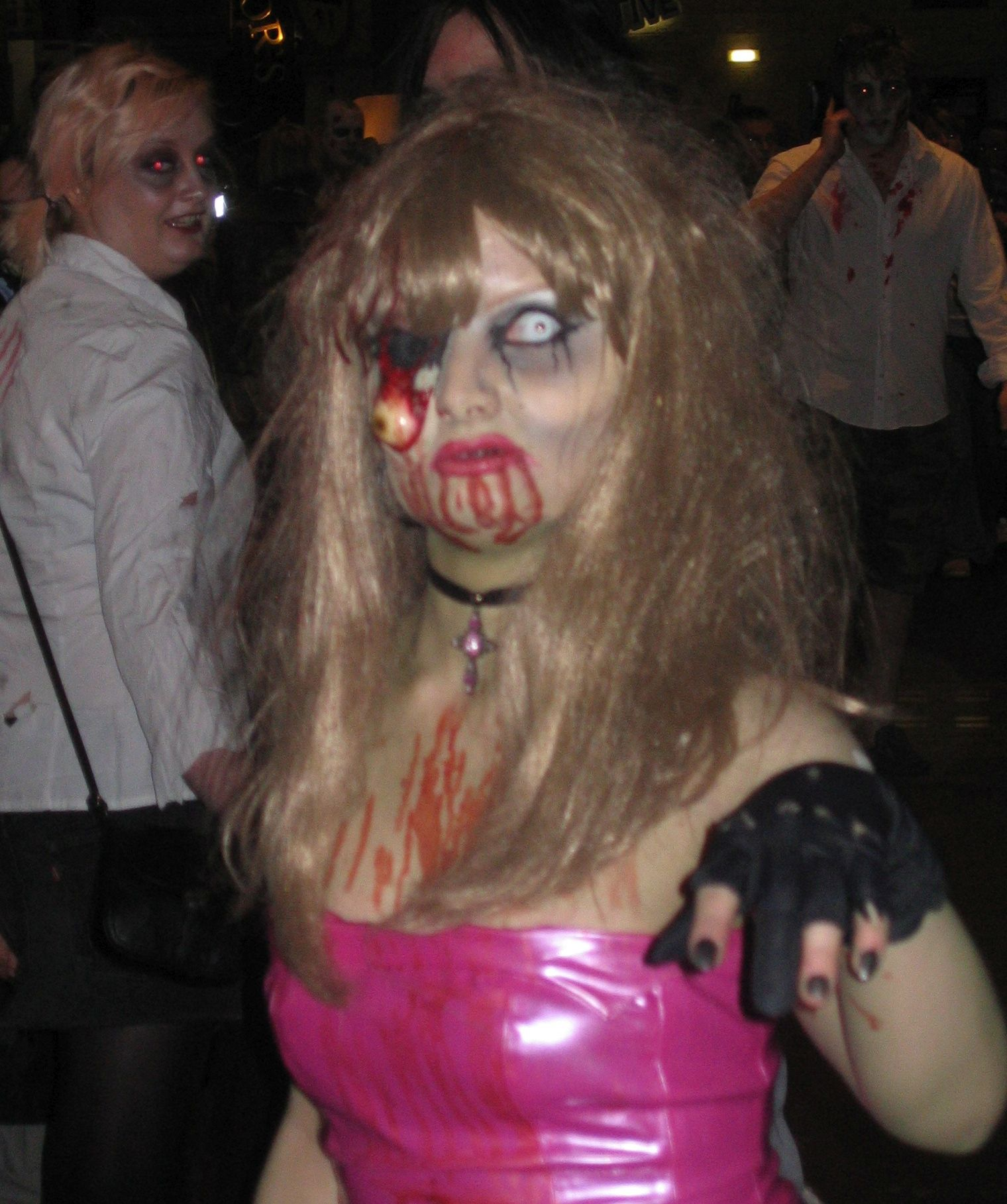 Photo taken by me – Morganna Bramah as a zombie girl in Manchester