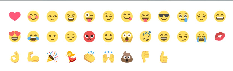 Emoji from snackchat.co.uk