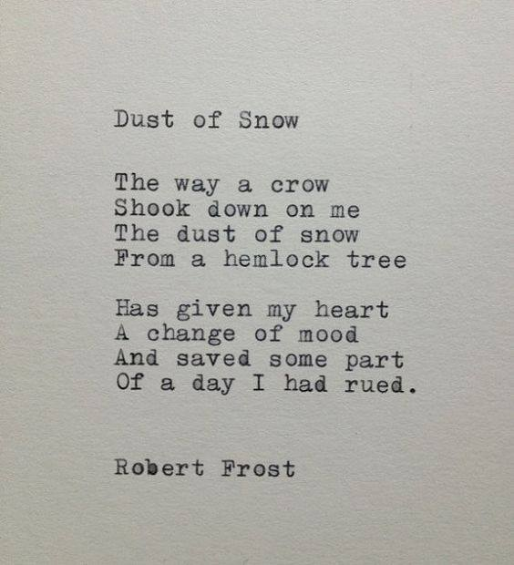 Dust of Snow - Words of Wisdom
