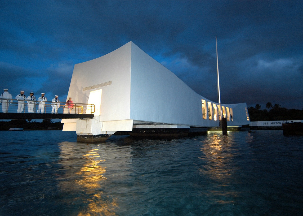 Pearl Harbor Memorial Picture by Pixabay