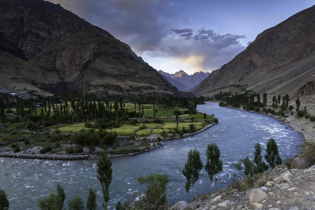 Ghizer River, Gilgit, Pakistan
