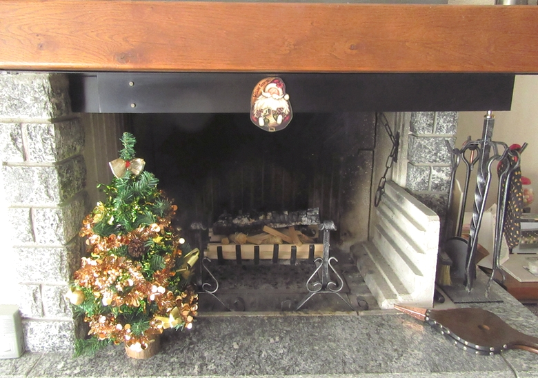 Personal Image - the fireplace is ready