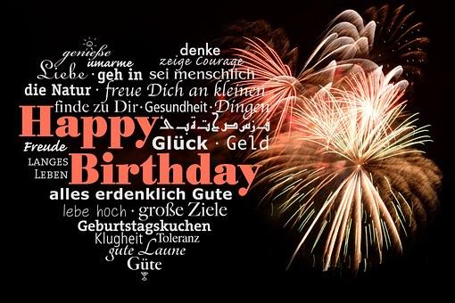 Pixabay, Happy birthday, public domain