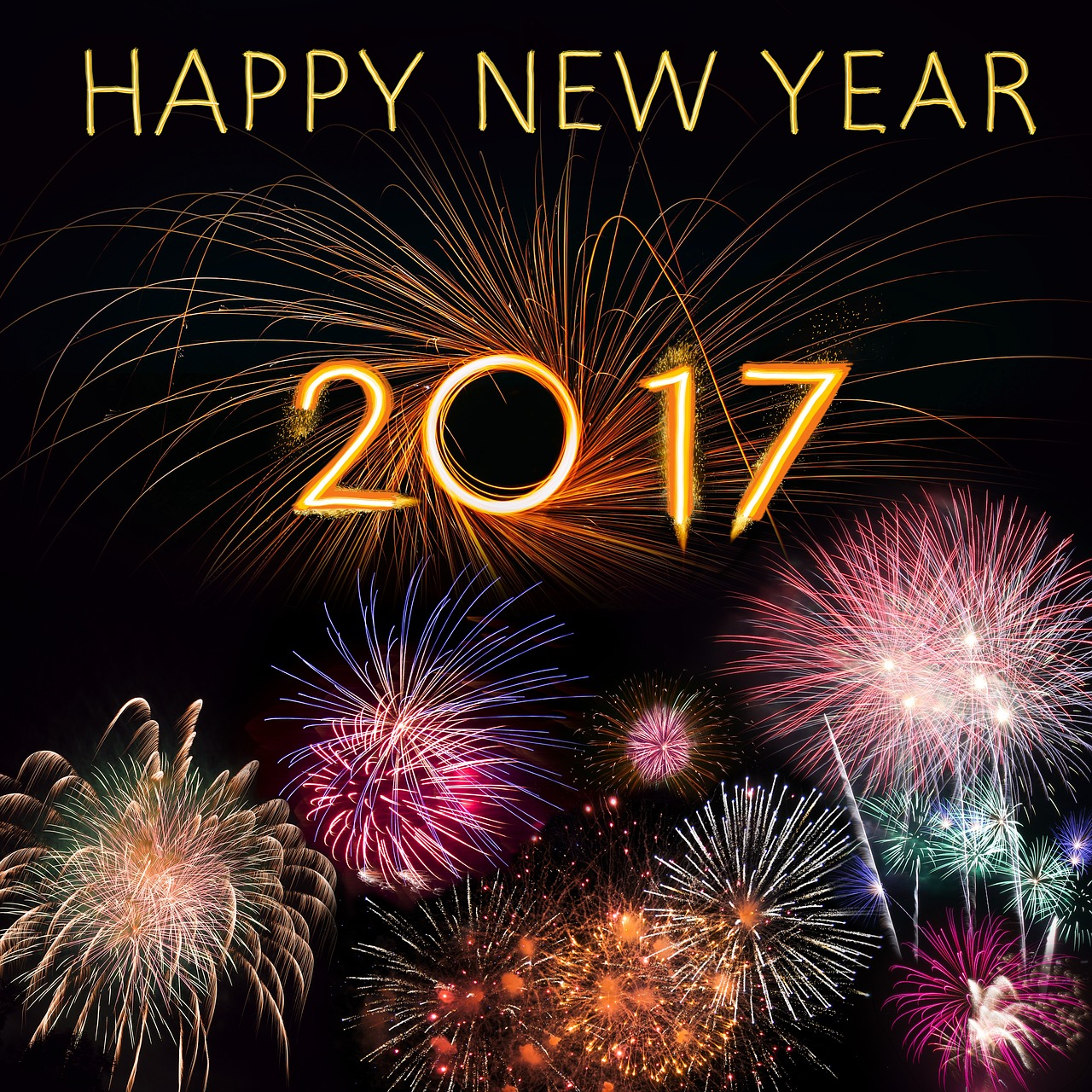 Happy New Year, 2017 is on its way, Good year or bad year