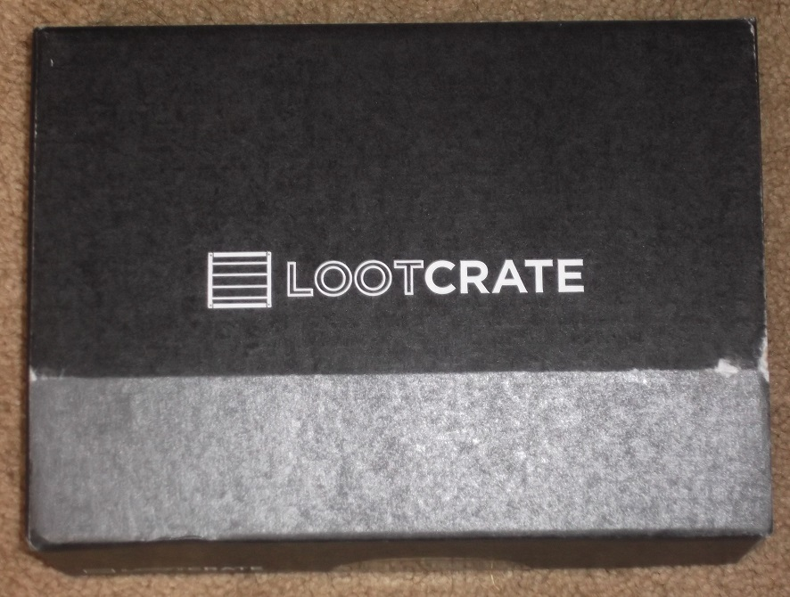 Photo of a LootCrate box I recieived