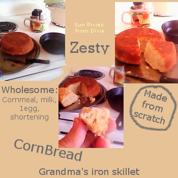 Tasty Cornbread - try some!