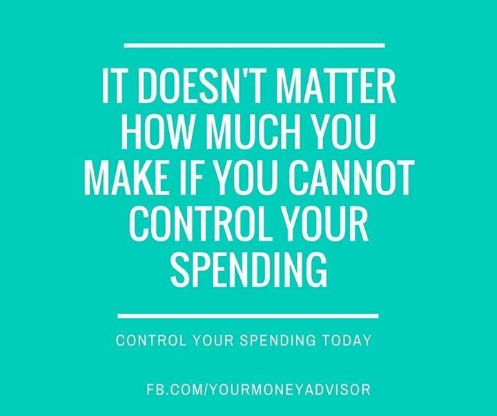 Control your Spending
