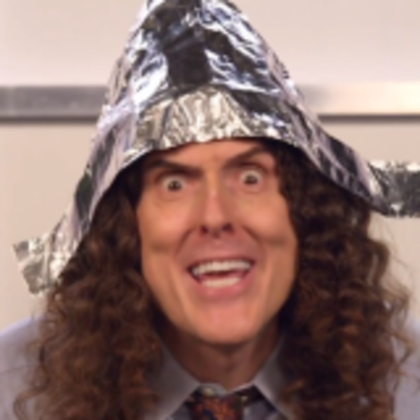 Weird Al, from the video 'Foil (parody of 'Royal')'