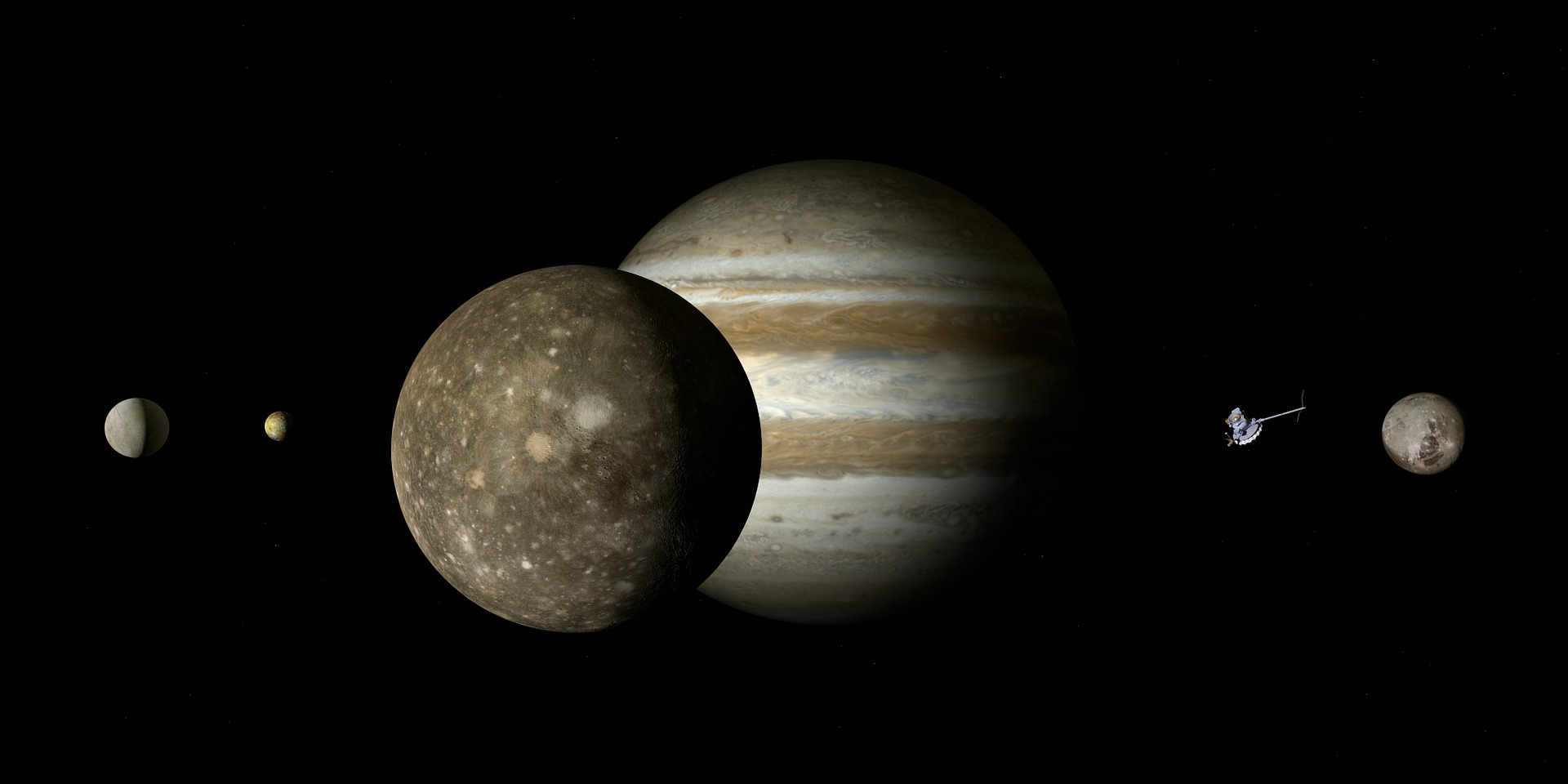 Picture of Jupiter by Pixabay