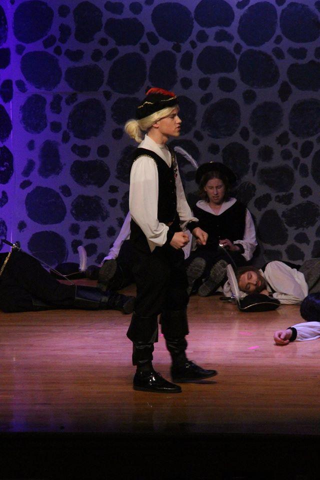 My son in Cyrano 11/16