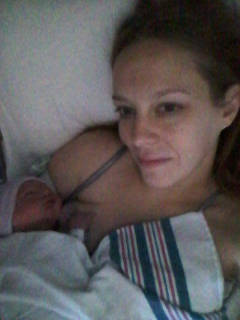 Baby Josiah and Mommy
