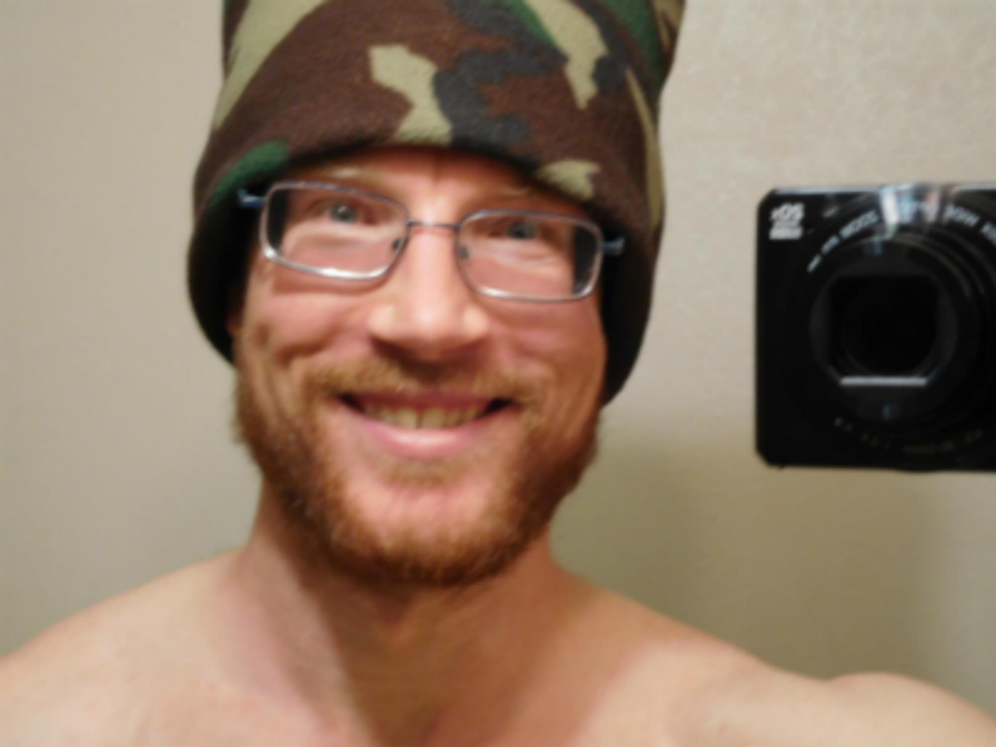 I LOVE My Camo Hat!