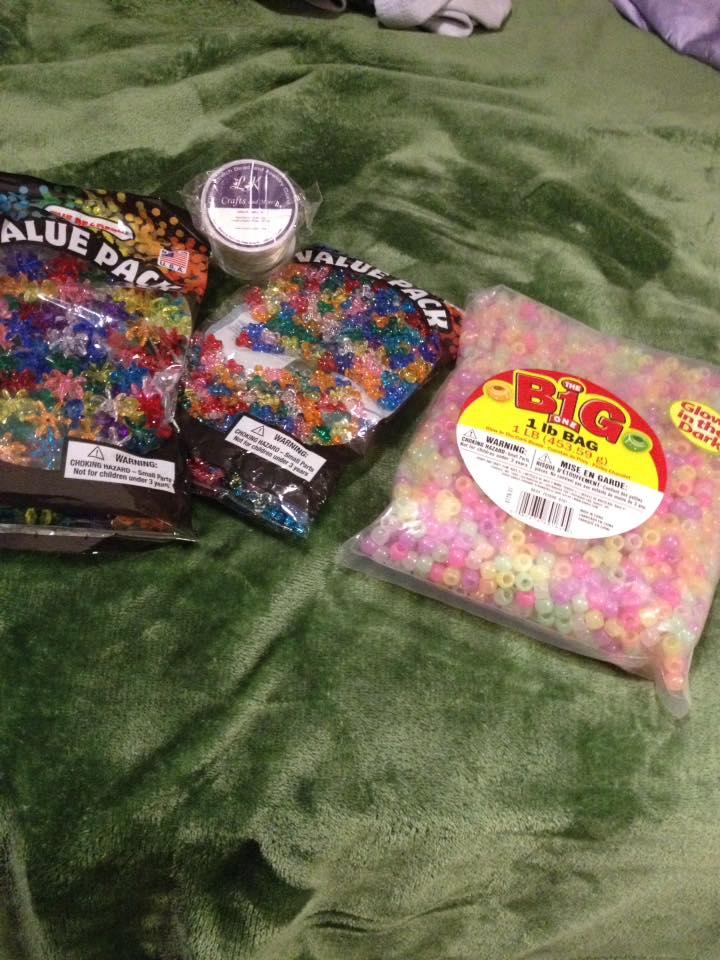 Beads I ordered