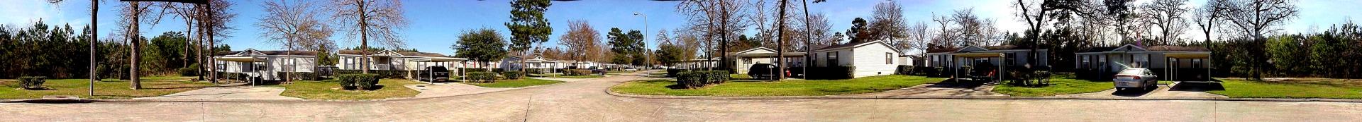 Panorama of Mesa Oaks Drive, Magnolia