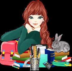 https://pixabay.com/en/books-education-female-girl-1297707/
