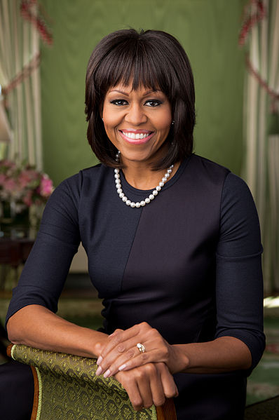 Michelle Obama official public portrait