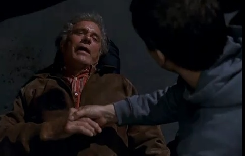 Uncle Ben tells Peter Parker that his Spidey-Gifts come with a Spidey-Mission