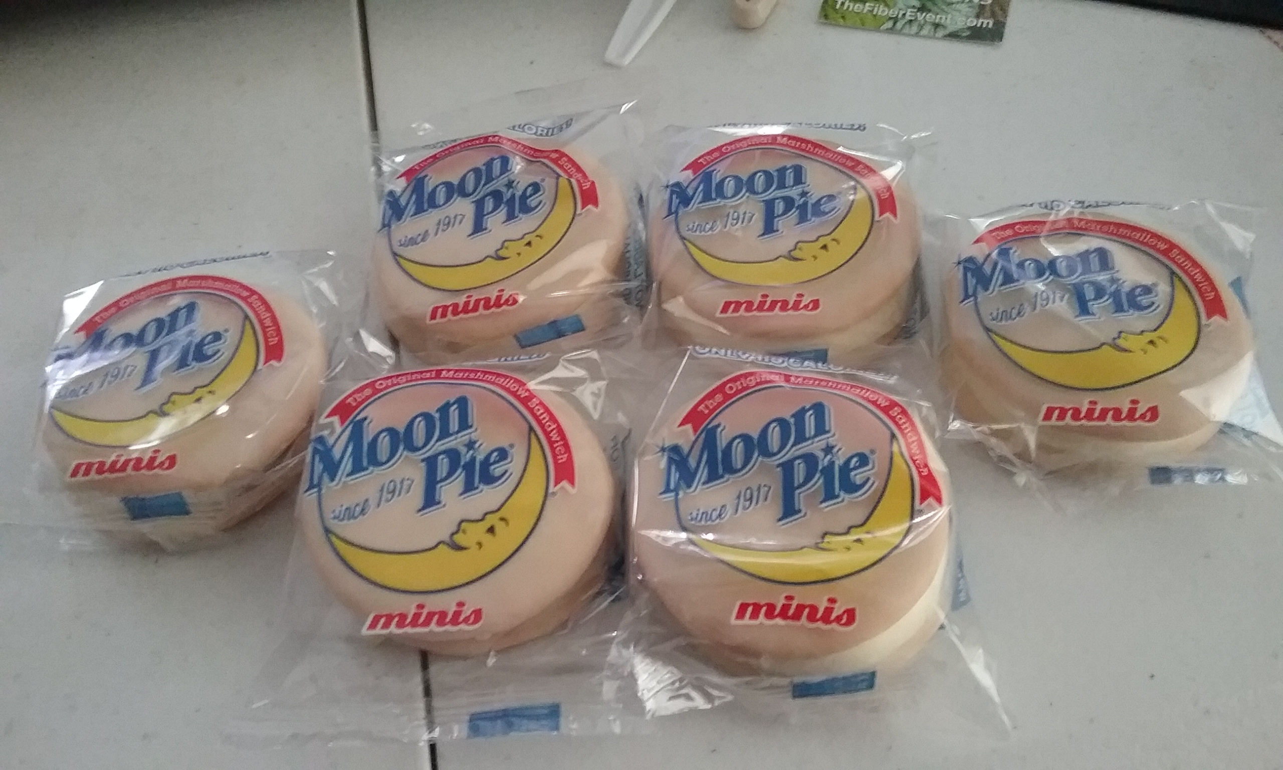 the Moon Pie minis that I bought at the Family Dollar store