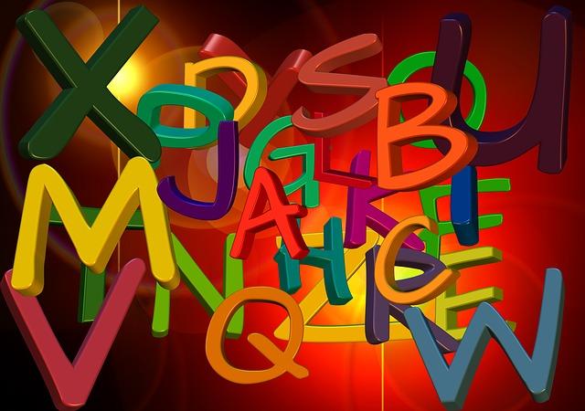 alphabet, me