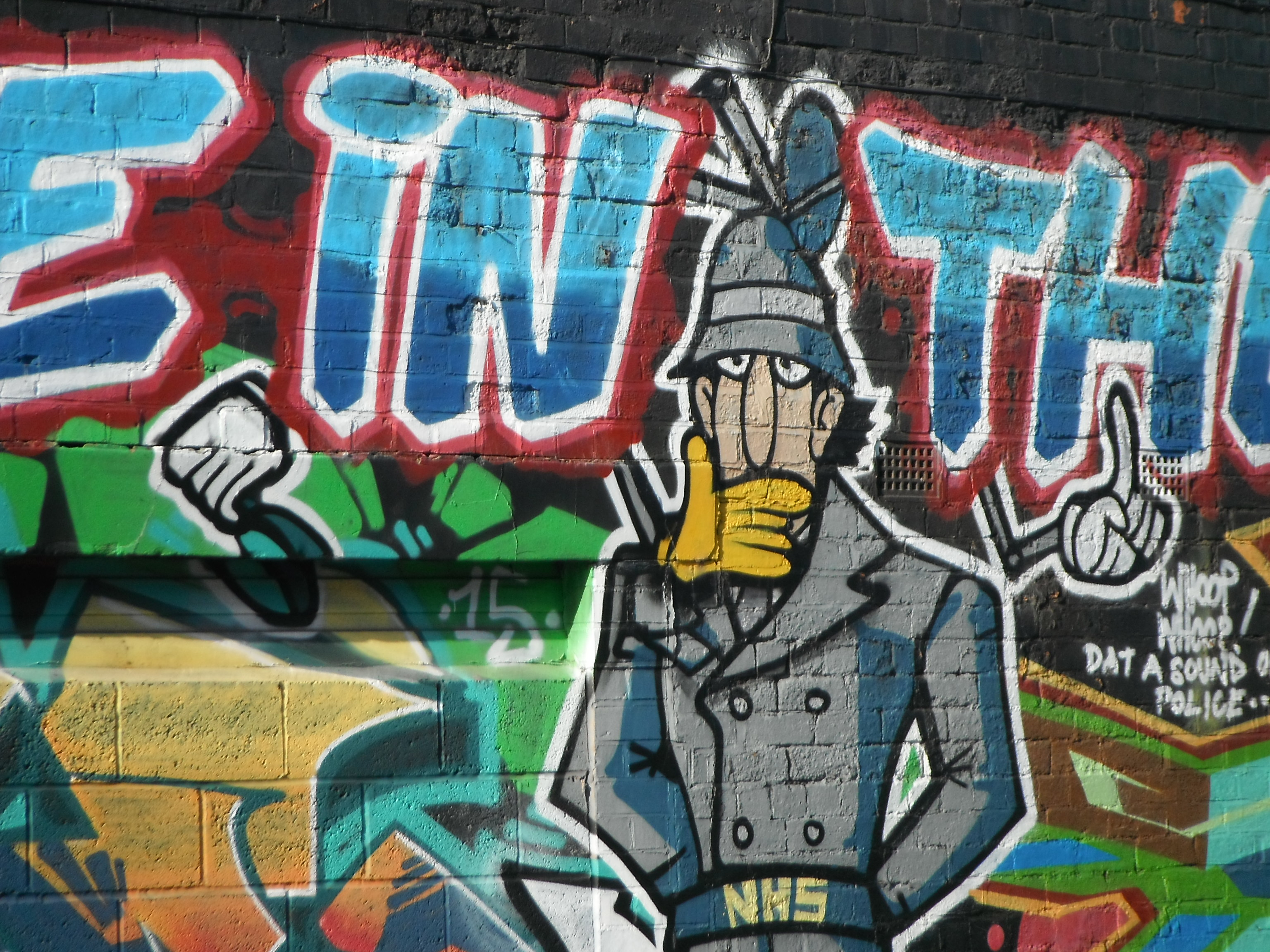Photo taken by me – The Inspector Gadget Mural, Digbeth, Birmingham.