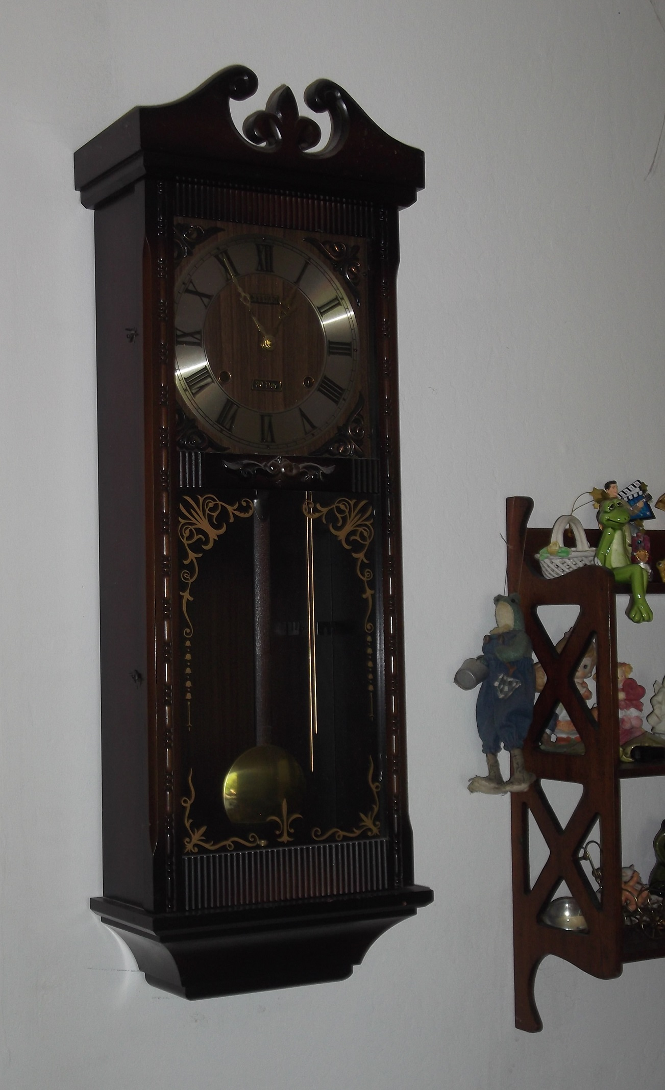 Photo I took of my grandmother's clock