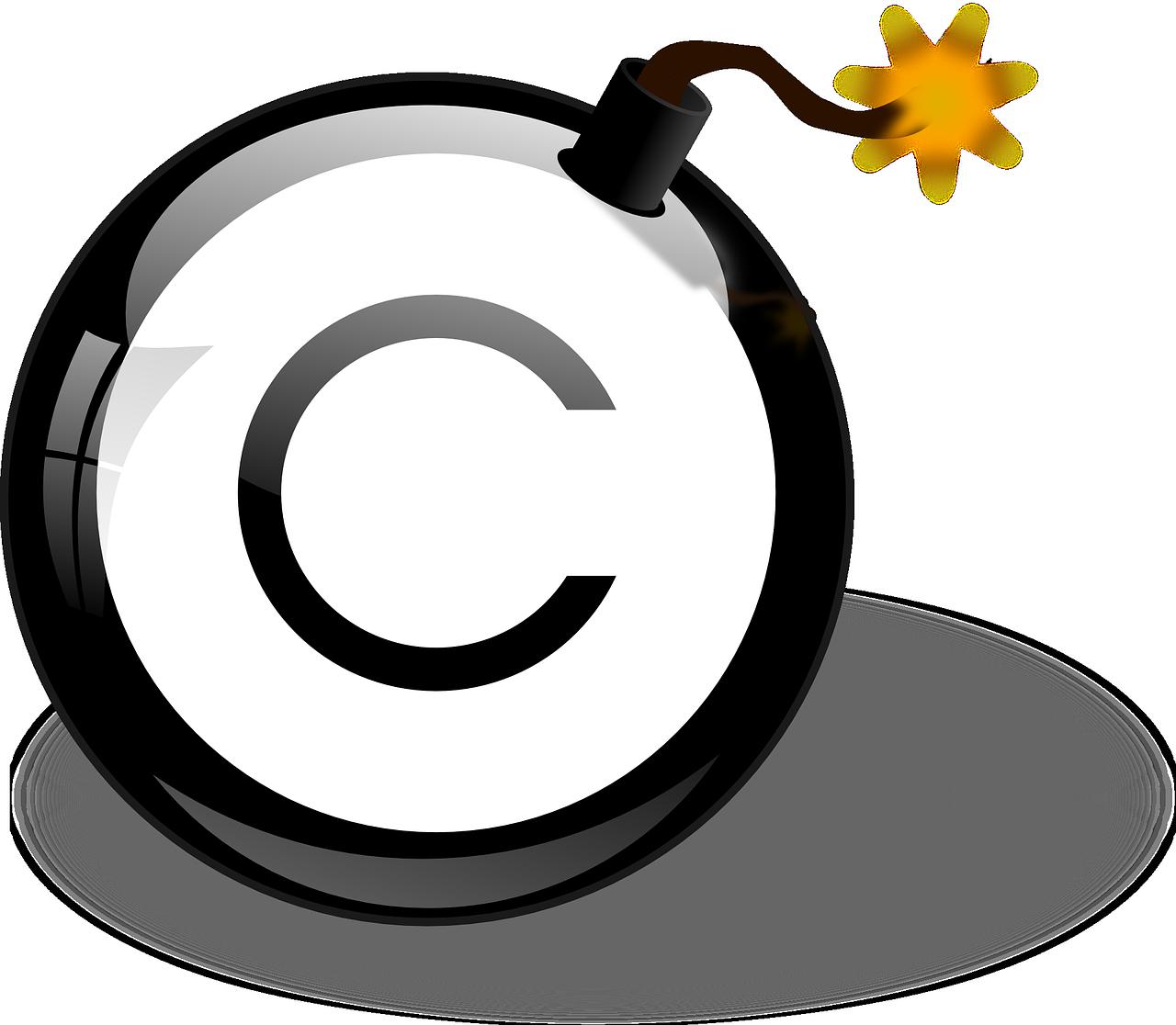 https://pixabay.com/en/bomb-copyright-explosive-danger-156107/