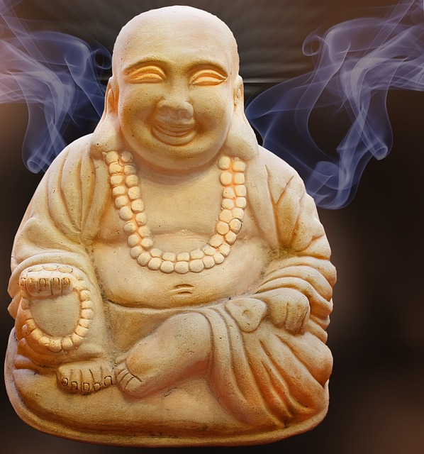Why does the Buddha smile