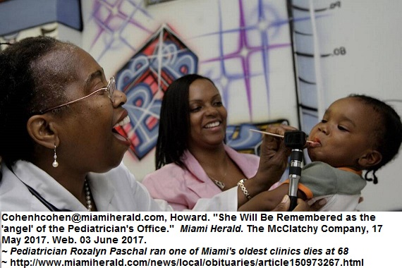 Dr Paschal Obituary Miami Herald