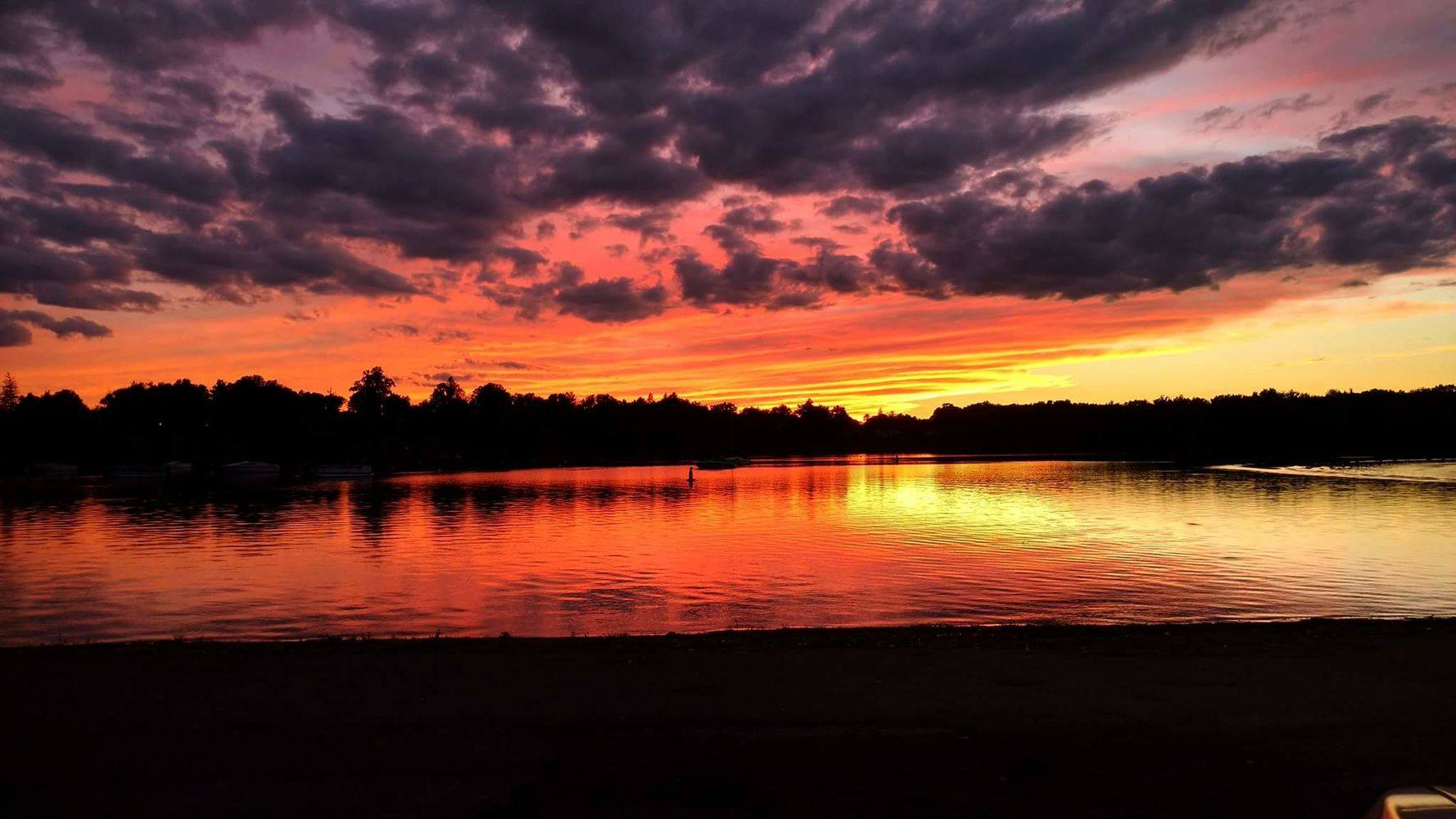 Sunset @Wethersfield Cove