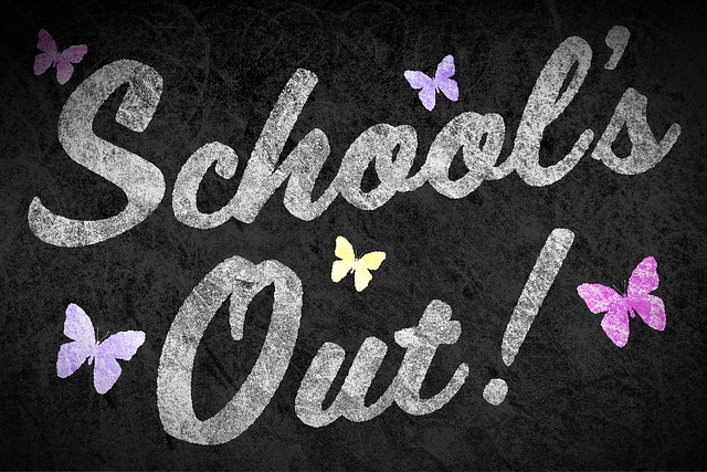 Pixabay, school's out, public domain