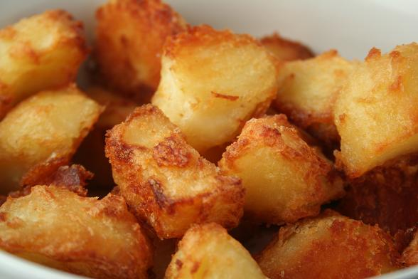 Roast potatoes! YUM!!