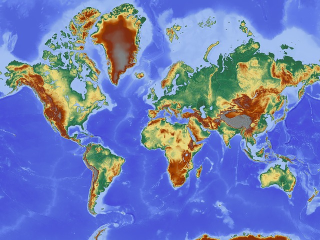 https://pixabay.com/en/map-map-of-the-world-relief-map-221210/