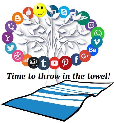 social media towel