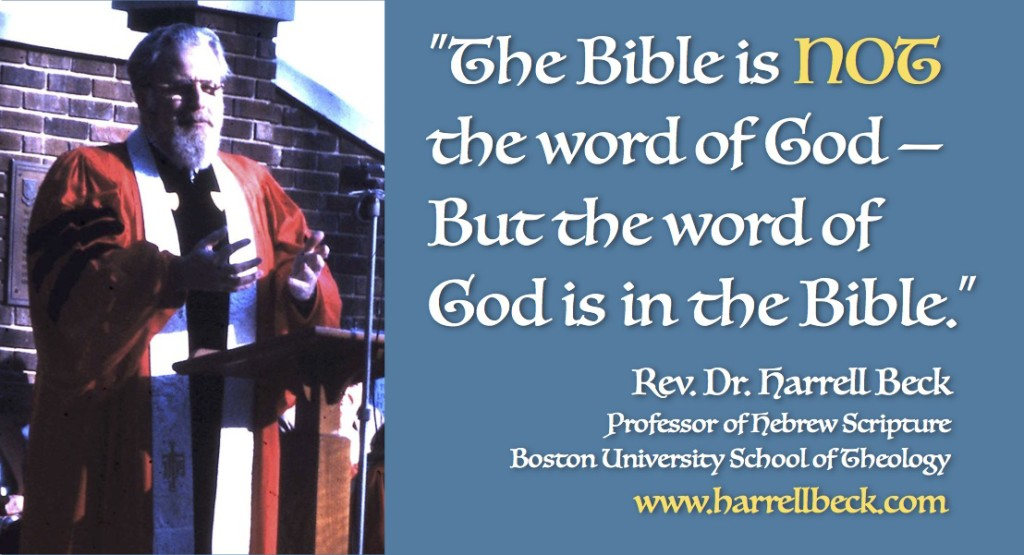 http://www.harrellbeck.com/2015/04/the-bible-is-not-the-word-of-god/