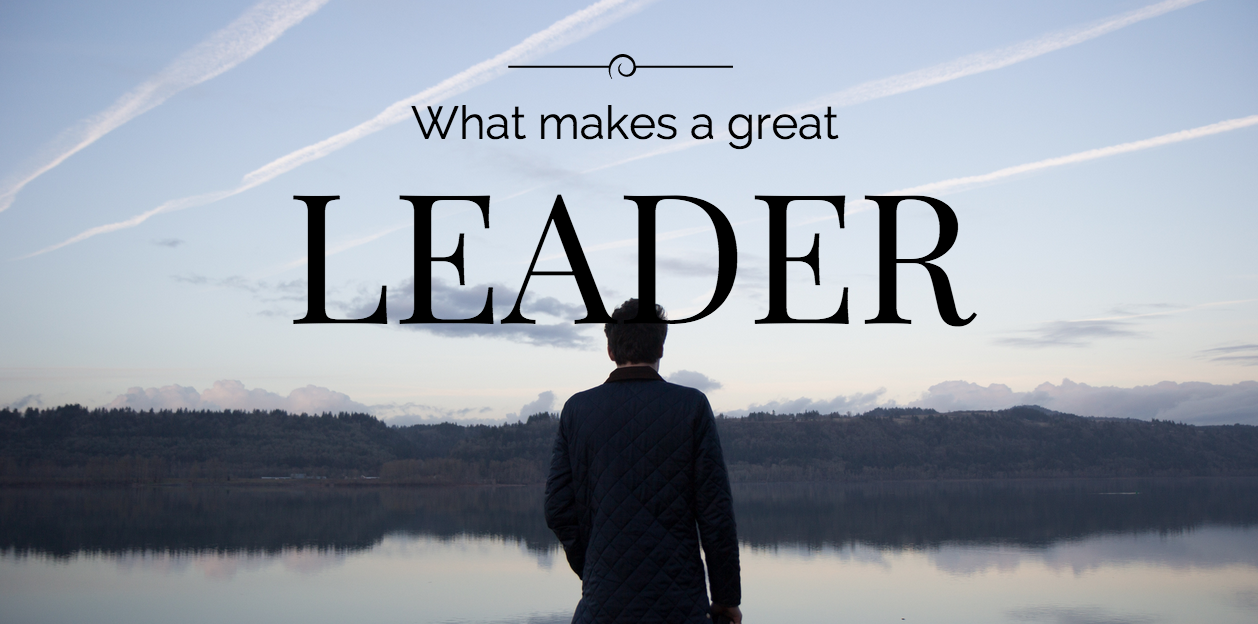 what is a good leader With great leadership qualities, successful leaders come in all shapes and sizes: in the home, at school, or at the workplace the following is a list of characteristics of a leader who successfully leads a great team.