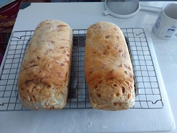 Chili cheese bread