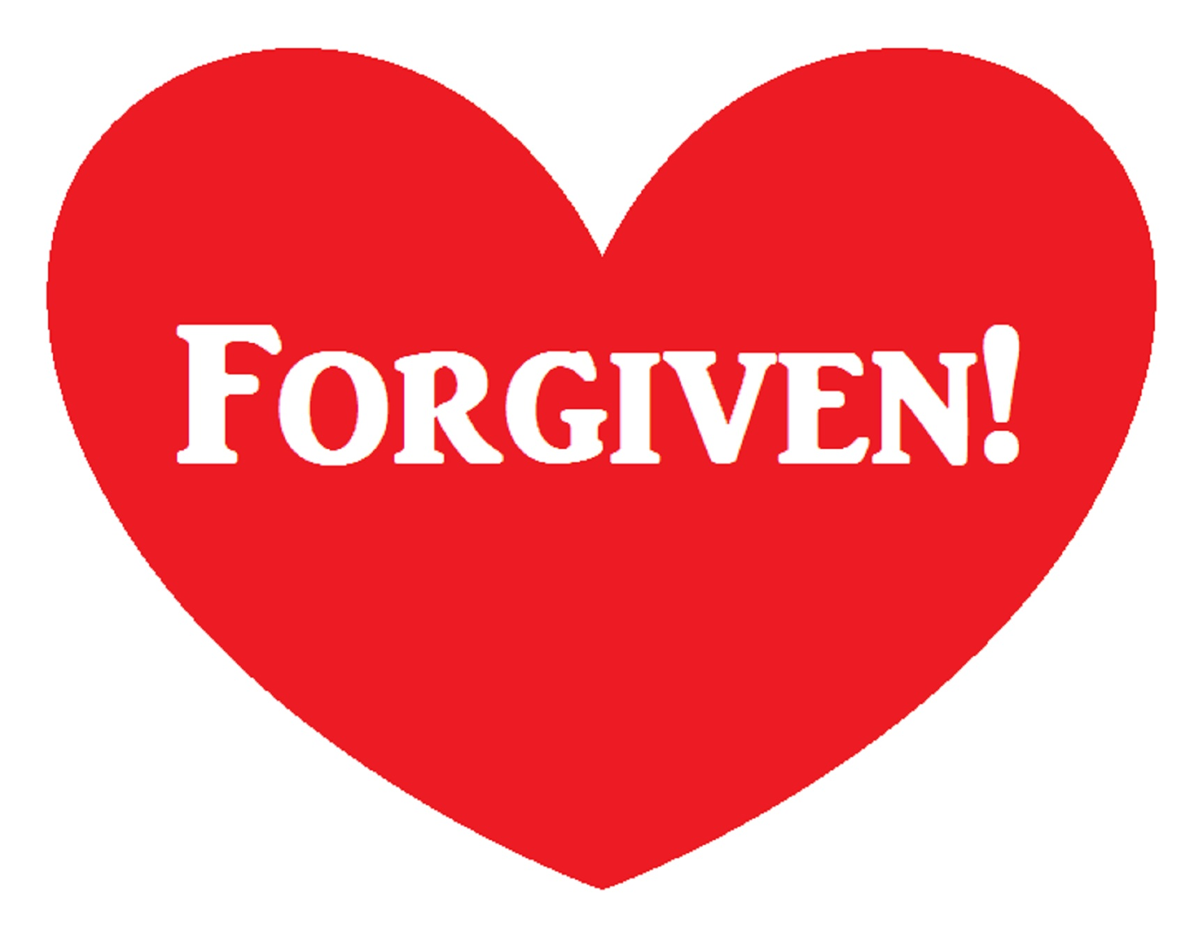 Forgiven Created by me with Microsoft Paint
