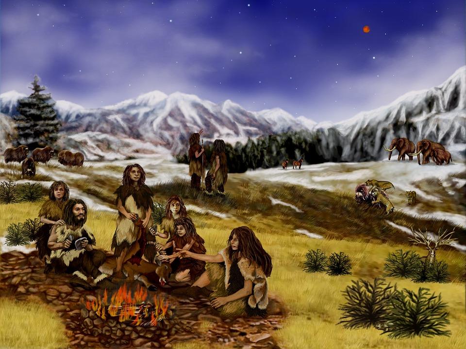 Prehistoric Life Artist Interpretation