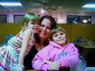 Me and my girls when they were little