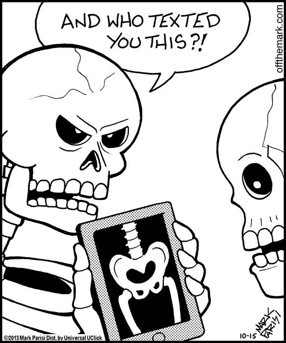 Hilarious Skeleton Humor