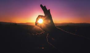 Calming sunrise