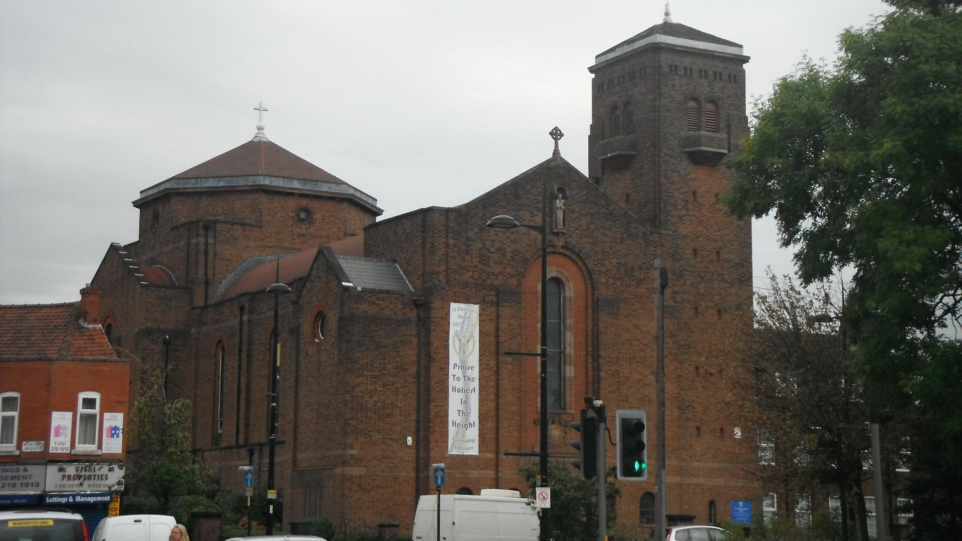 Photo taken by me - St Dunstan's Church - Moton Manchester
