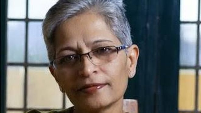 Gauri Lankesh Indian journalist